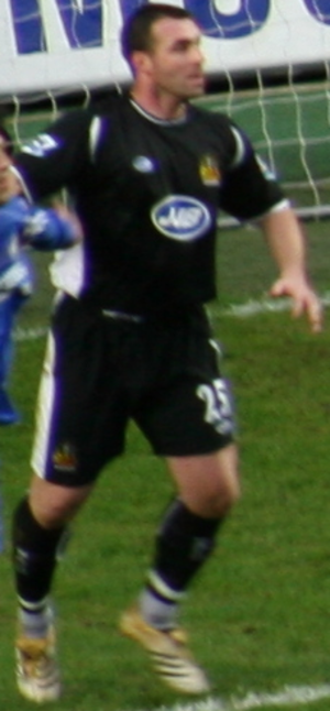 David Unsworth - Unsworth playing for Wigan Athletic in 2007
