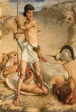 David en Goliath (1925) door Toon Lüske