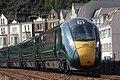 Dawlish - GWR 800021 up train at Marine Parade.JPG