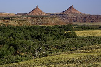 Ute people - Bears Ears buttes of the Bears Ears National Monument in southeastern Utah