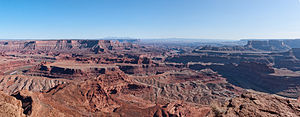Dead Horse Point State Park - Image: Dead Horse Point Panorama