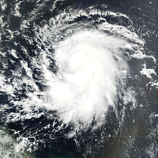Effects of Hurricane Dean in the Lesser Antilles