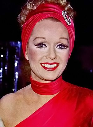 Debbie Reynolds - Reynolds prior to performing a show in Las Vegas in 1975