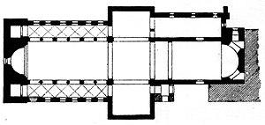 Huysburg - Floor plan of Huysburg