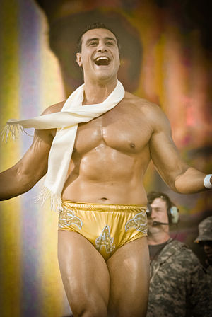 Alberto Del Rio - Del Rio at the 2010 Tribute to the Troops event