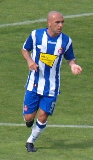 Iván de la Peña - De la Peña playing for Espanyol in 2009