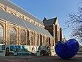Delft, het Blauwe Hart van plexiglas en staal bij de Nieuwe Kerk foto7 niet-ontwikkelt 2016-03-13.jpg