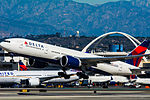 Delta Air Lines Boeing 777 at LAX (22314610203).jpg