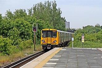 Seaforth & Litherland railway station - Image: Departing from Seaforth and Litherland Railway Station (geograph 2994507)