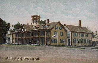 Derby Line, Vermont - Image: Derby Line Hotel, Derby Line, VT