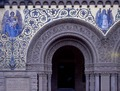 Detail of the entry gate to Stanford University, Palo Alto, California LCCN2011634261.tif