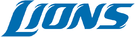Wordmark dos Detroit Lions