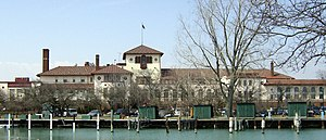 Detroit Yacht Club - Clubhouse and docks