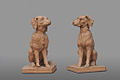 Deux chiens, Auguste Nayel.JPG