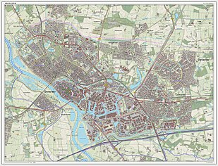 Dutch Topographic map of Deventer (city), June 2014 Deventer-plaats-OpenTopo.jpg