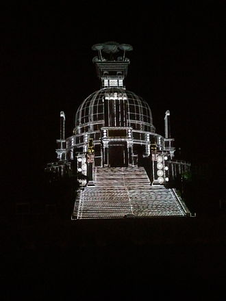 Dhauli - Light and sound show in Dhaulagiri