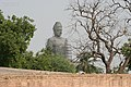Dhyana Buddha under construction in Amaravati, AP Im IMG 8110.jpg