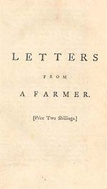 letters from a farmer in pennsylvania townshend acts 37685