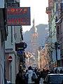 Die Hauptstraße Heidelberg am Mittag im Dezember 2013.JPG