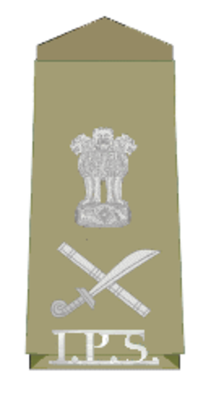 Director general of police - Insignia of an Indian Police Service officer with rank of Director General of Police