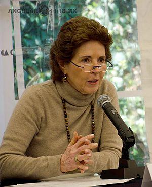 Secretariat of Culture - Image: Directora del INBA María Cristina García Cepeda 1
