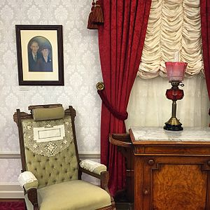 Main Street, U.S.A. - A replica of Walt Disney's apartment at the Walt Disney Family Museum.