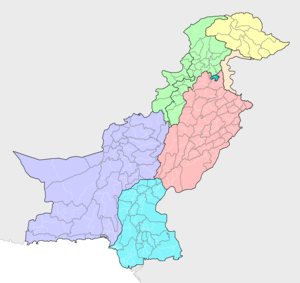 Districts of Pakistan - Image: Districts and tehsils of Pakistan