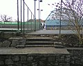 Disused steps, Eirias Park, Colwyn Bay - geograph.org.uk - 1759242.jpg