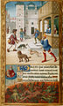 Dives and Lazarus - Tilliot Hours (c.1500), f.70v - BL Yates Thompson MS 5.jpg