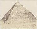 Djîzeh (Nécropole de Memphis), Pyramide de Chéphren MET DP71342.jpg
