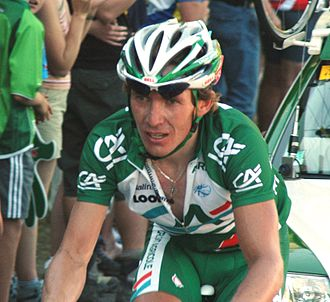 Dmitry Fofonov - Fofonov at the 2007 Tour de France