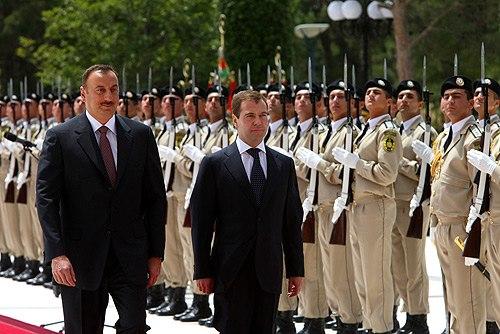 Dmitry Medvedev in Azerbaijan 3 July 2008-2