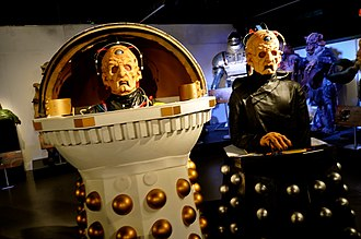 Davros - Image: Doctor Who Experience (30826729112)