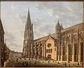 Domenico Quaglio, Das Freiburger Münster um 1830, MGS-20160312-001.jpg