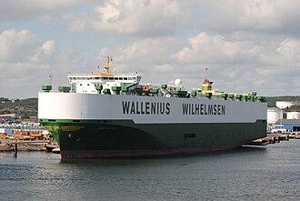 Wallenius Wilhelmsen Logistics - Image: Don Quijote