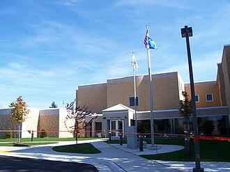 Door County, Wisconsin - Image: Door County Wisconsin Courthouse