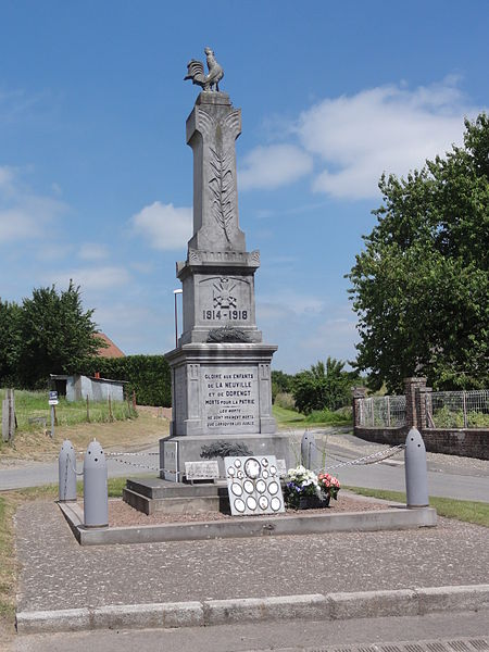 Dorengt (Aisne) mon.aux morts La Neuville et Dorengt
