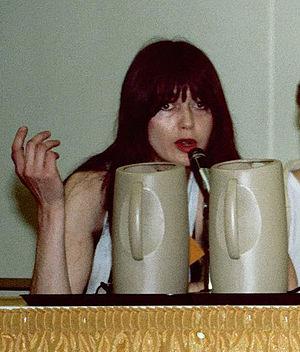 Dori Seda - Dori Seda on the Women In Comics panel at the 1982 San Diego Comic Con.