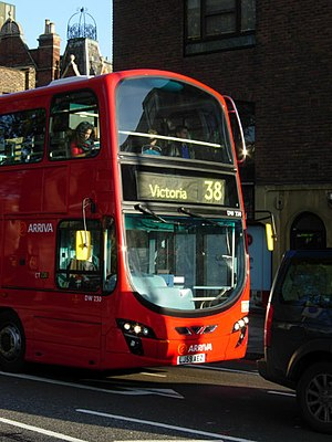 Double-decker on route 38 - geograph.org.uk - ...