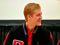 Dougie Hamilton WJC12 press conference.jpg