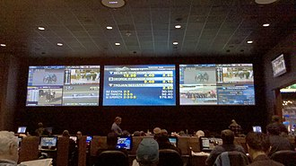 Sportsbook - The sports book at Dover Downs Hotel & Casino.