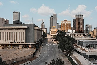 Tulsa, Oklahoma - Downtown Tulsa's skyline in 2014