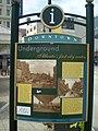 Downtown Underground Atlanta's first city center.JPG