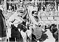 Dr Babasaheb Ambedkar inspecting ceremony at Milind College with his wife Maisaheb, Mr. Chitnis and Mr. Warale.jpg