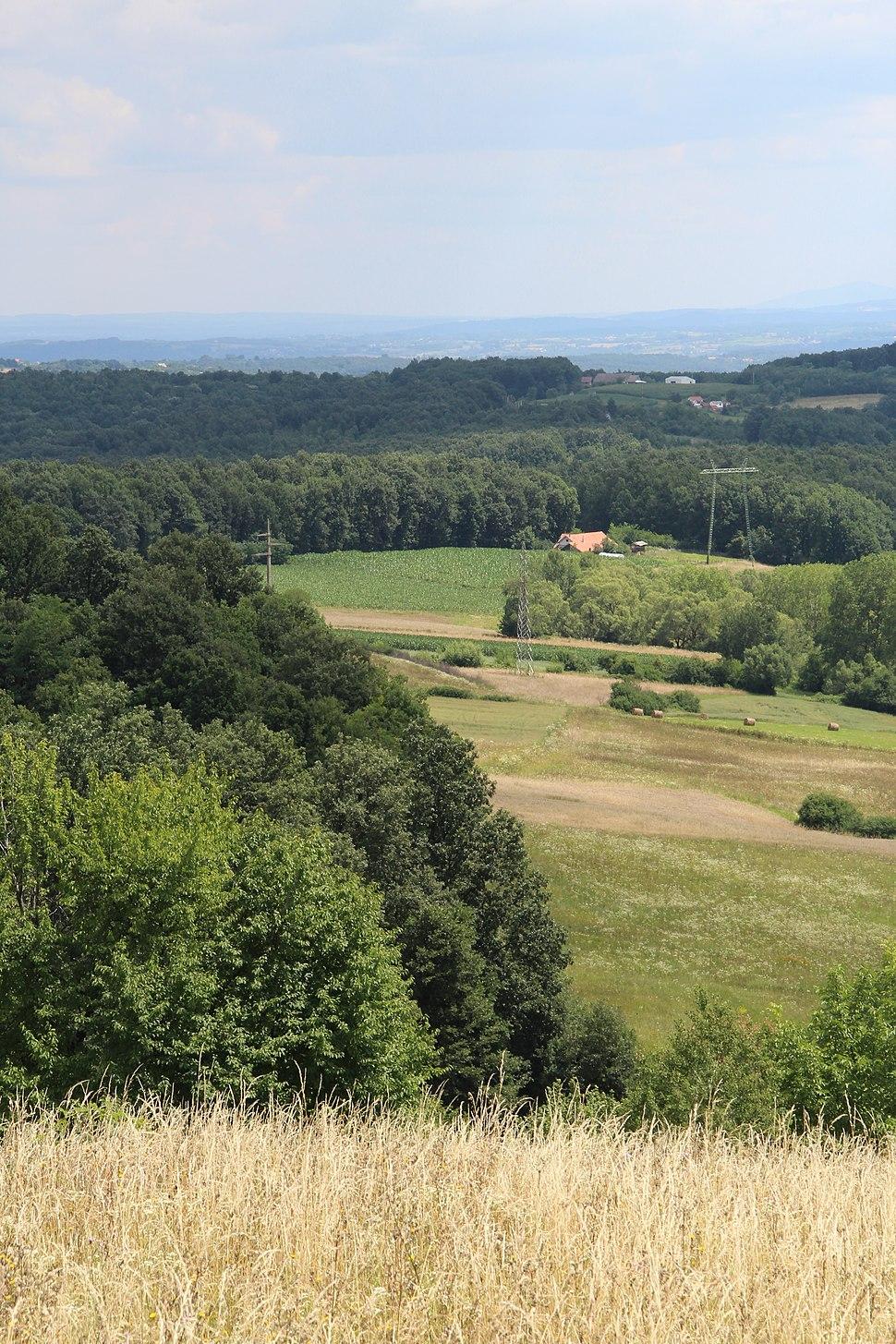 Dračić - opština Valjevo - zapadna Srbija - panorama 7