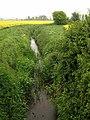 Drainage channel, Ilford Bridges - geograph.org.uk - 1310052.jpg