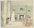 Drawing, Sitting Room, 7 Owen's Row, Islington, 1855 (CH 18708207).jpg