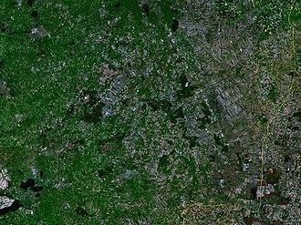 Drenthe - Satellite image of Drenthe
