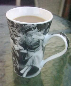 Drinks at the beach 1933 coffee mug