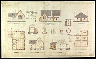 George Metcalfe - Architectural drawings of Druitt Town Public School